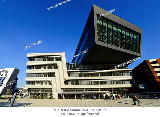 WU Campus Vienna, Vienna University of Economics and Business, LC, Library and Learning Center, Zaha Hadid, Austria, Vienna, 2. district