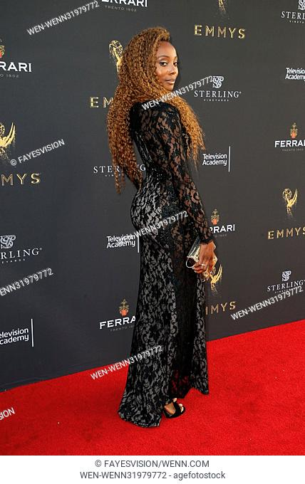 69th Los Angeles Area Emmy Awards Featuring: Erica Ash Where: Los Angeles, California, United States When: 23 Jul 2017 Credit: FayesVision/WENN.com