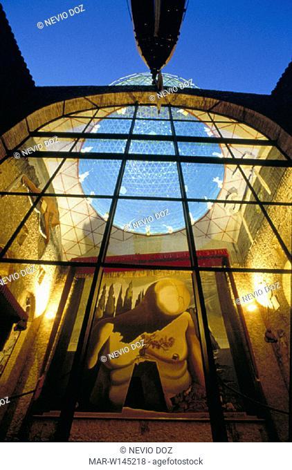 spain, figueres, salvador dali' museum