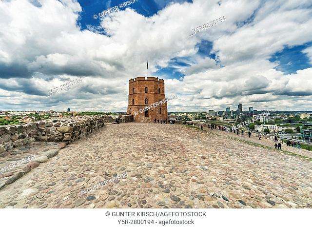 The Gediminas Tower is the landmark of Vilnius. It is located on the 142 metres high Castle Mountain and is the only surviving Tower of the upper castle
