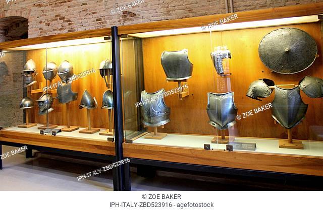 Italy Verona Inside Castelvecchio