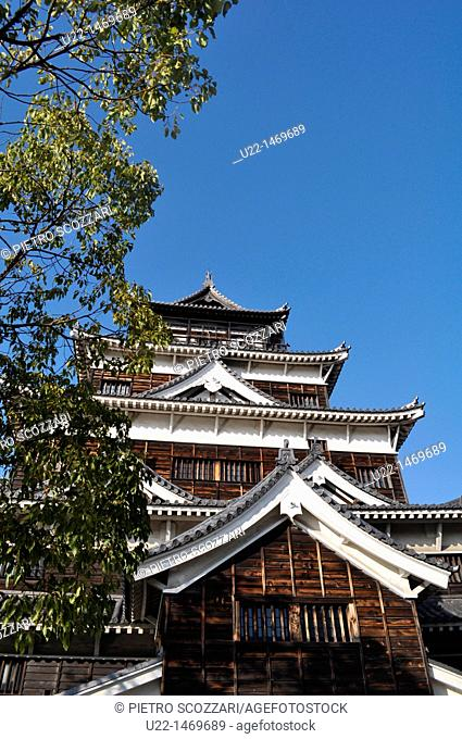 Hiroshima (Japan): the Hiroshima Castle