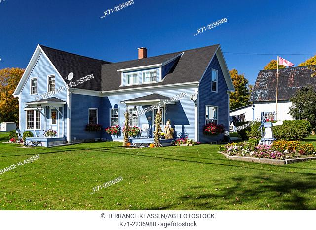 A home in the Eastern Townships village of Ayers Cliff, Quebec, Canada