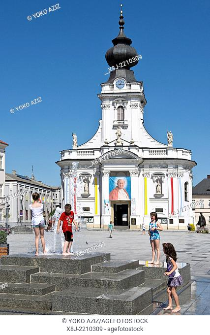 Poland,Wadowice, Basilica of the Presentation of the Blessed Virgin Mary