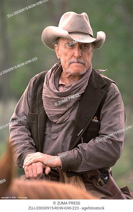 Sep 15, 2003; Alberta, Canada; Actor ROBERT DUVALL stars as Boss Spearman in 'Open Range.'  (Credit Image: © Courtesy of Touchstone Pictures/Entertainment...
