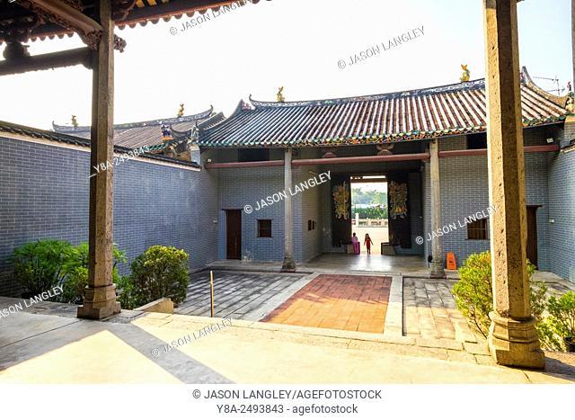 Tang Ancestral Hall at Ping Shan Heritage Trail, Yuen Long District, New Territories, Hong Kong, China