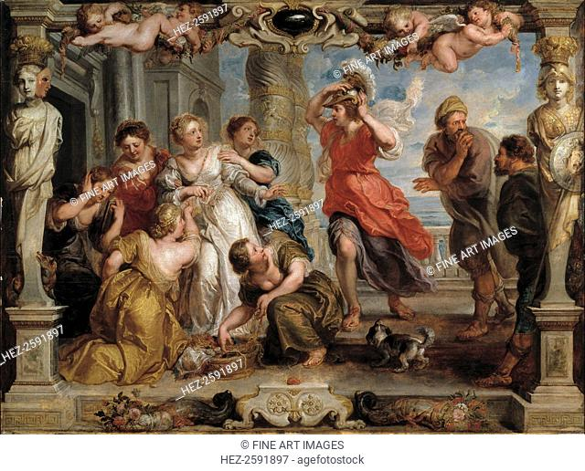 Achilles Discovered by Ulysses Among the Daughters of Lycomedes at Skyros, 1630-1635. Found in the collection of the Museo del Prado, Madrid