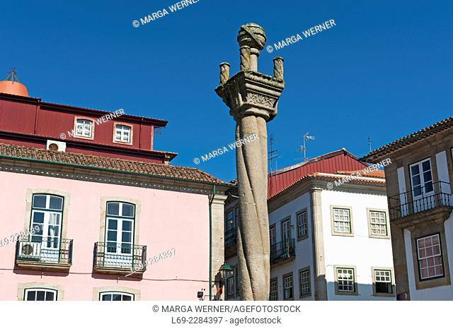 Historical market, Center of Chaves, District Vila Real, North of Portugal, Europe