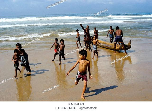 KIDS OF THE FISHING FOLK, KERALA