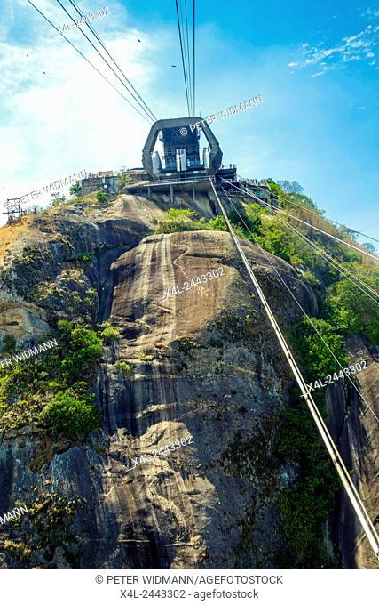 Bergstation, Pao de Acucar, Zuckerhut, Sugarloaf, Rio de Janiero, Brasilien