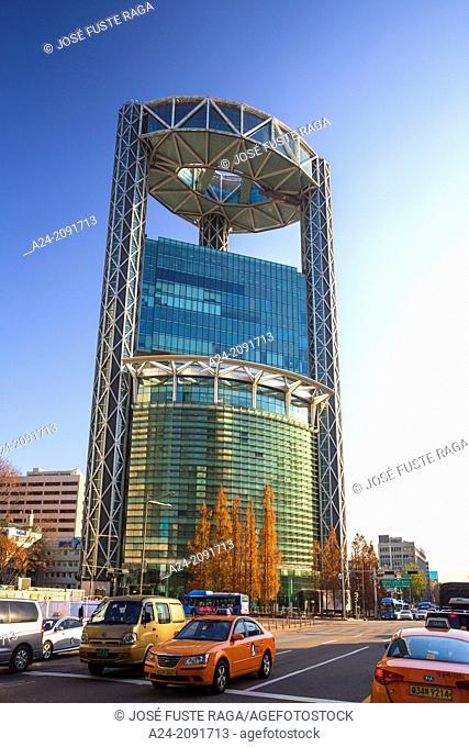Korea , Seoul City, Jongno Tower (Samsung Bldg.)