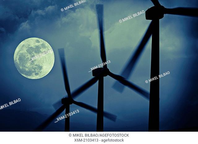 Windmills. Spain