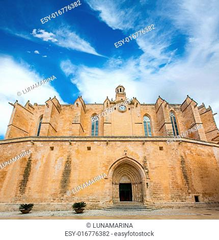 Ciutadella Menorca Cathedral in Ciudadela at Balearic islands