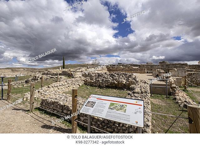 Casa del procurador minero Caio Lulio Silvano, parque arqueológico de Segóbriga, Saelices, Cuenca, Castilla-La Mancha, Spain