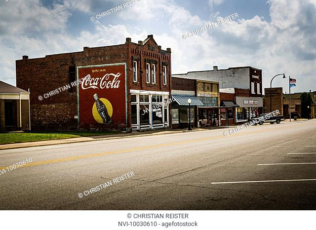 Stroud, Historic Route 66, Oklahoma, USA