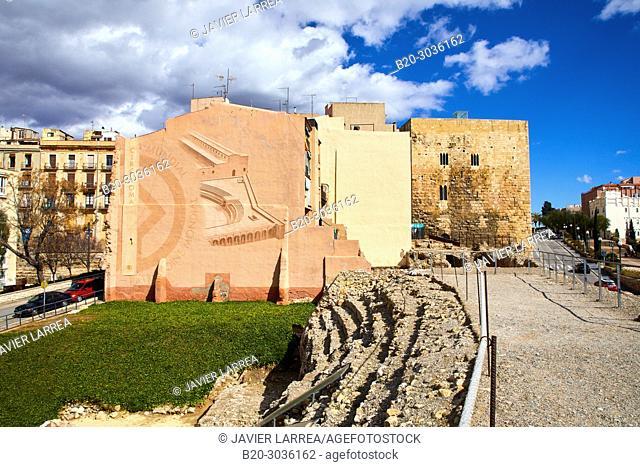 Praetorium and Roman Circus, History Museum of Tarragona (MHT), Tarragona City, Catalonia, Spain, Europe