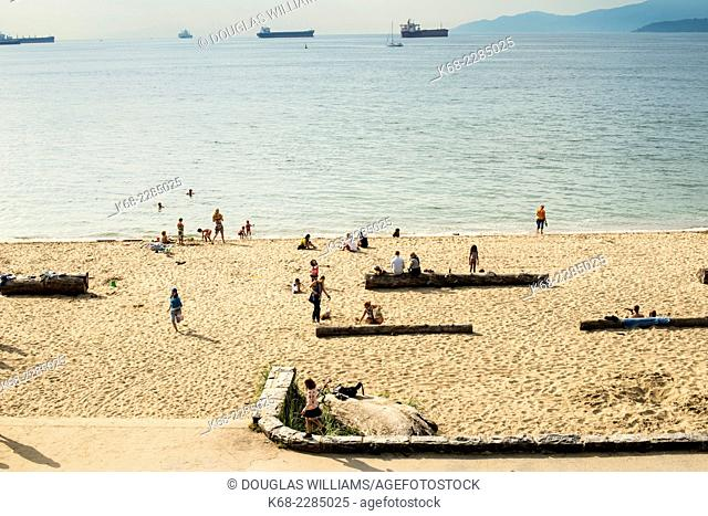 Third Beach, English Bay, Stanley Park, Vancouver, BC, Canada