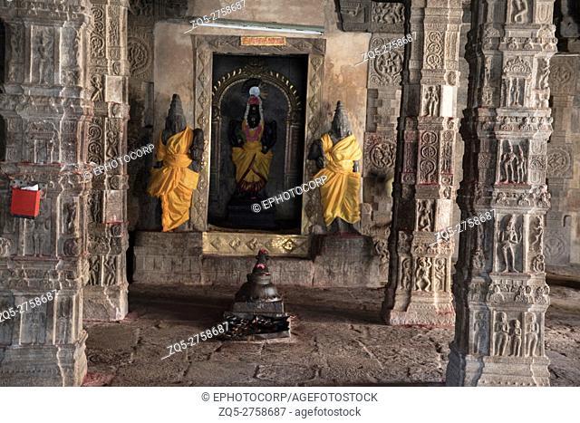 Goddess Perinayaki cell, Airavatesvara Temple, Darasuram, Tamil Nadu, India