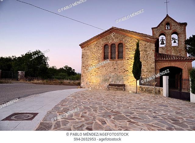 Church of San Mames in San Mames town, Madrid, Spain