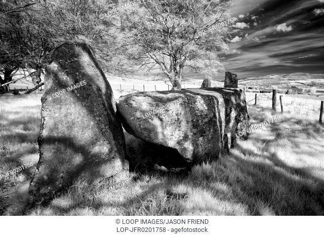 Old Keig Stone Circle in Aberdeenshire