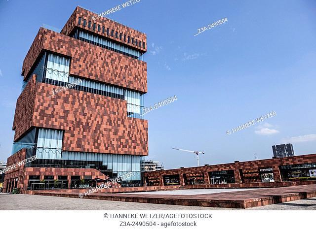 The Museum aan de Stroom (MAS; Dutch for: Museum at the river) is a museum located along the river Scheldt in the Eilandje district of Antwerp, Belgium