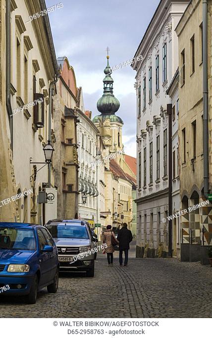 Austria, Lower Austria, Stein an der Donau, Steiner Landstrasse street