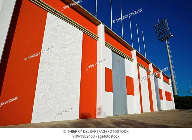 Soccer football facilites in Algeciras, Spain