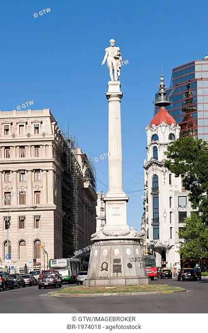 Plaza Lavalle, General Juan Lavalle Column, Buenos Aires, Argentina, South America