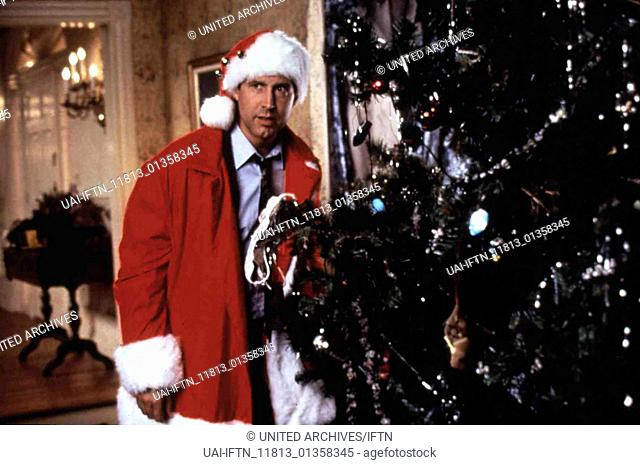 Hilfe, es weihnachtet sehr, USA 1989 aka. National Lampoon's Christmas Vacation, Director: Jeremiah S. Chechik, Actors/Stars: Chevy Chase, Beverly D'Angelo
