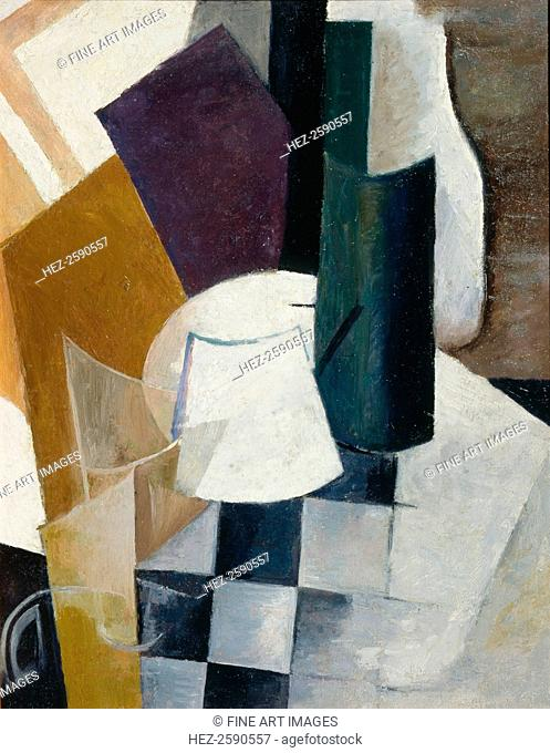Composition, 1915. Found in the collection of the State A. Radishchev Art Museum, Saratov