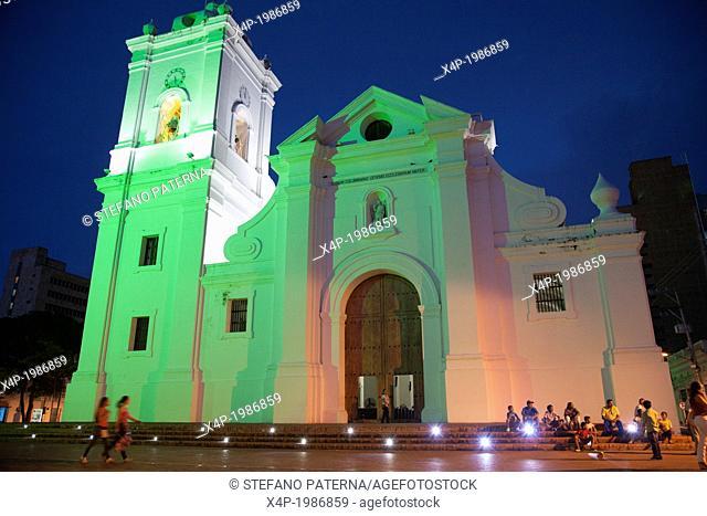 Catedral Basilika Mayor, Cathedral, Santa Marta, Magdalena Department, Colombia