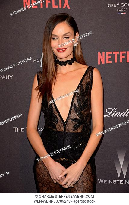 The 2017 Weinstein Company and Netflix Golden Globes After Party at The Beverly Hilton Featuring: Nicole Trunfio Where: Los Angeles, California