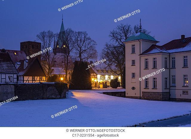 Herten, Westerholt, Germany, North Rhine-Westphalia, NRW, Westphalia, Ruhr area, D-Herten, D-Herten-Westerholt, Old Village Westerholt, Alte Freiheit Westerholt