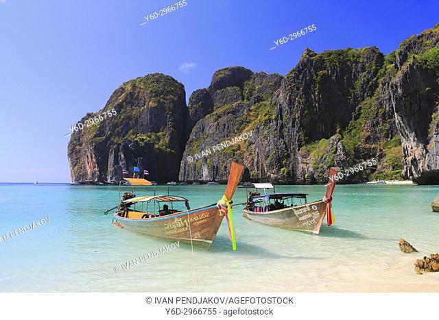 Maya Bay, Phi Phi Ley, Andaman Sea, Thailand