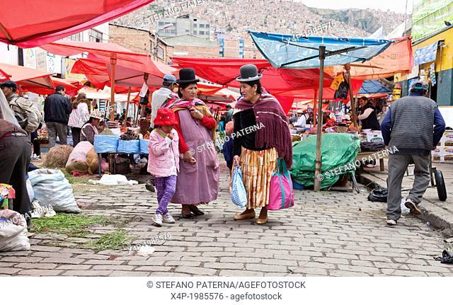 Rodriguez market, La Paz, Bolivia