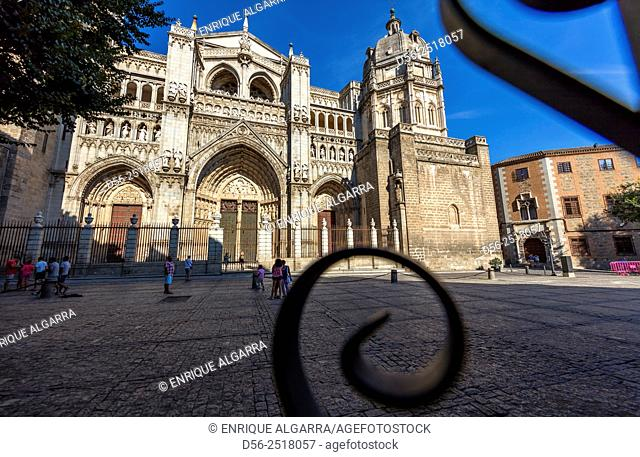 Spain - Toledo - Cathedral of Saint Mary of Toledo - Primate Cathedral of Toledo - Madrid neighbourhood