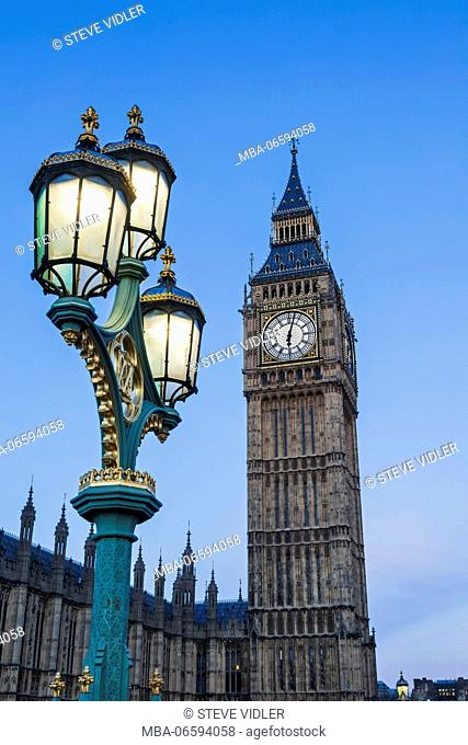 England, London, Westminster, Big Ben