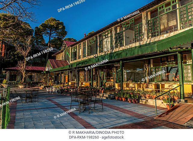 Club house, kasauli, himachal pradesh, india, asia