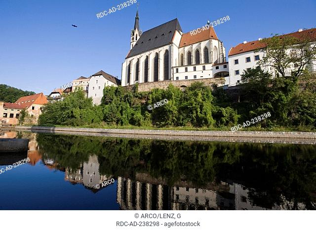 St Veit church, Cesky Krumlov, South Bohemia, Czech Republic