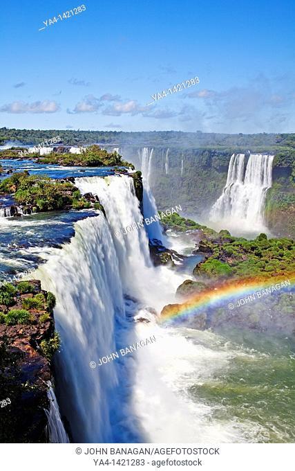 Iguacu Falls, Iguacu National Park, Brazil