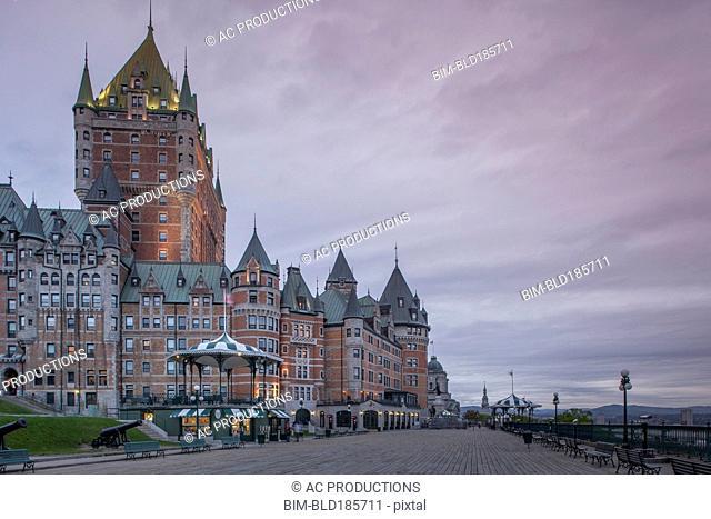 Chateau Frontenac Hotel, Quebec City, Quebec, Canada