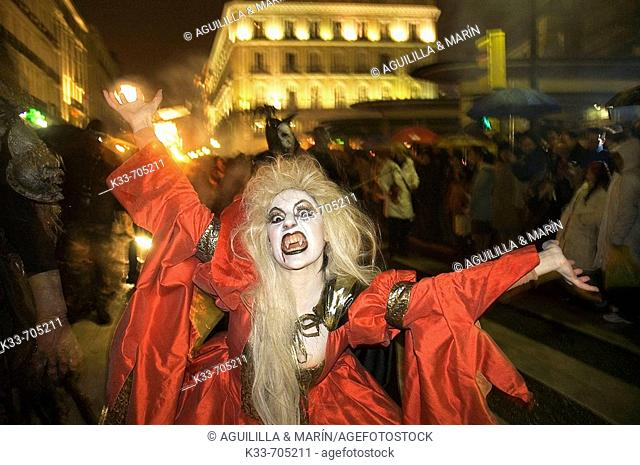 Carnaval. Madrid. Spain