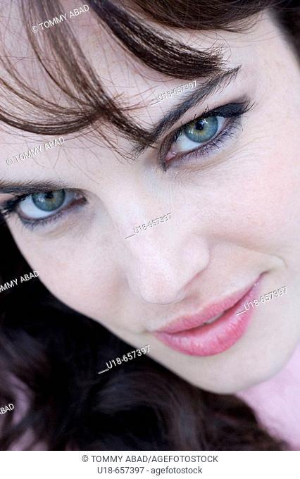 Portrait of woman, Argentina