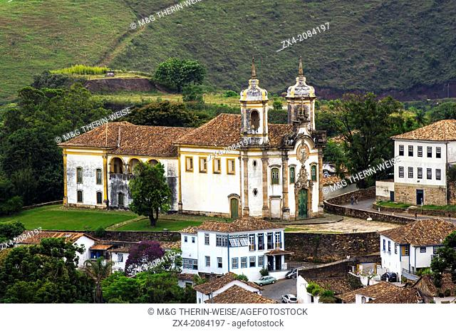 Sao Francisco de Assis Church, Ouro Preto, Minas Gerais, Brazil