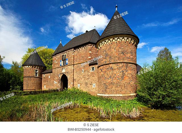 Vondern castle, Germany, North Rhine-Westphalia, Ruhr Area, Oberhausen