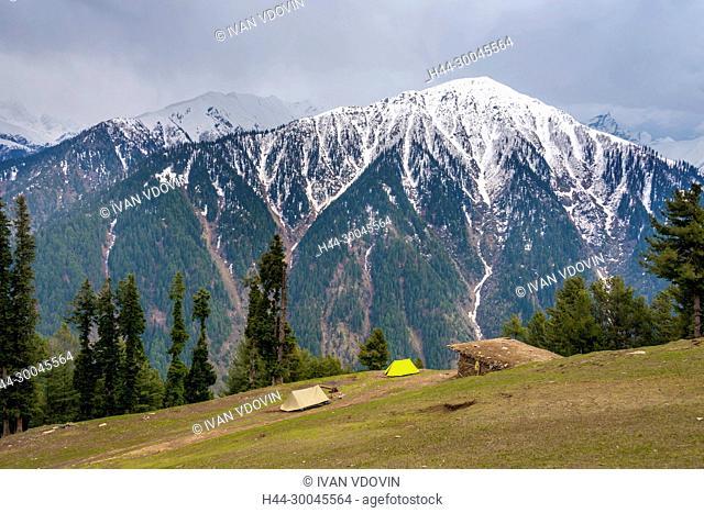 Mountain landscape, Jammu and Kashmir, India