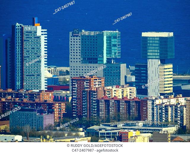 Diagonal mar , Barcelona, Catalonia, Spain