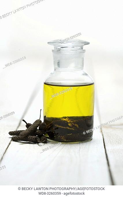 aceite de oliva con pimienta negra