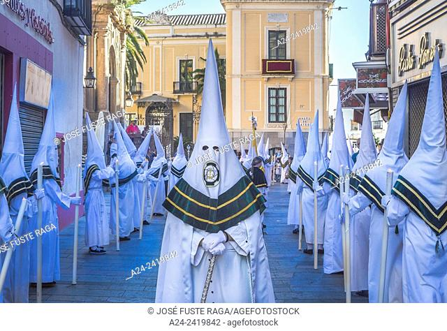 Spain , Andalucia Region, Cordoba City, Holy week parade