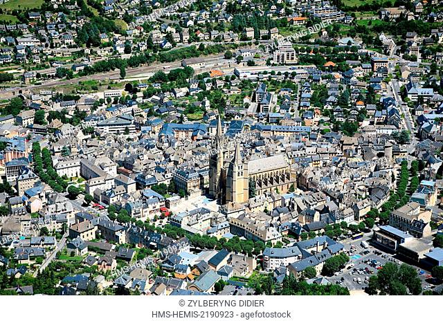 France, Lozere, Mende, overview